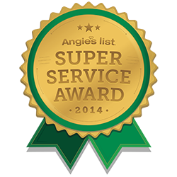 Angies's list 2014 super service award given to Louisville Carpet Cleaning & Flood Restoration
