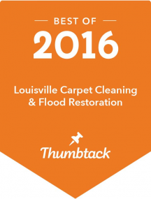 Thumbtack Award for Carpet Cleaning